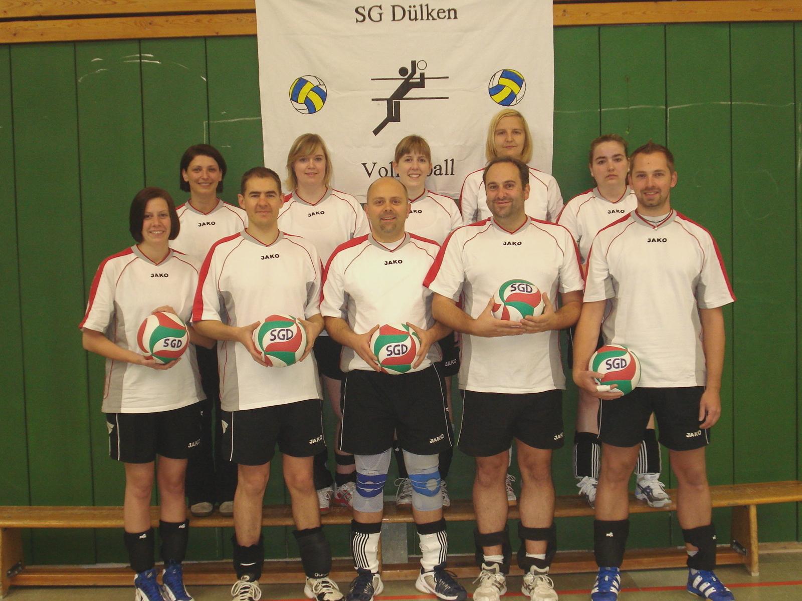 1. Mixedmannschaft der Saison 2010/11