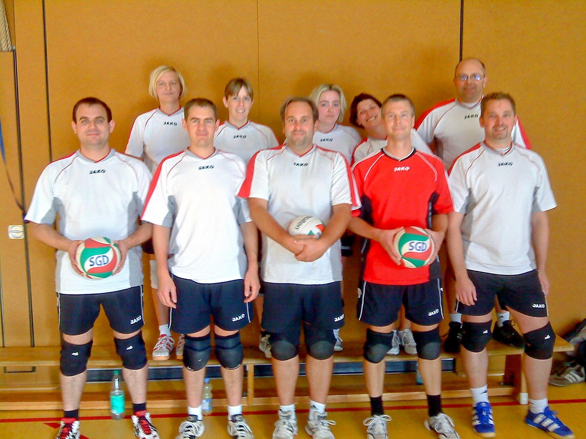 1. Mixedmannschaft der Saison 2011/2012